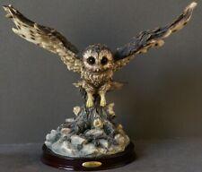 THE JULIANA COLLECTION OWL FIGURE