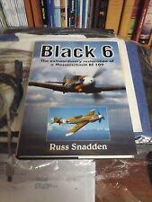 MESSERSCHMITT BF109 E BLACK 6  EXTRAORDINARY RESTORATION BOOK OF RUSS SNADDEN