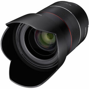Samyang AF 35mm F1.4 High Speed Wide Angle Lens for Sony E Mount - SYIO3514-E