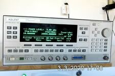 Agilent 83620a Withopts 001002008h07 Synthesized Sweeper 10mhz 20ghz Caled