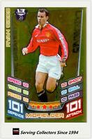 2012-13 Match Attax Legend Foil Card #501 Ryan Giggs (Man Utd)