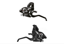 Shimano Altus ST-EF51 8 x 3 Speed Ezi Fire Shifter + Lever Set With Gear Cables