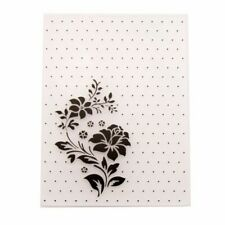 Flower Plastic Embossing Template DIY Scrapbook Card Making Decoration Crafts