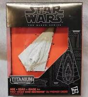 Star Wars Black Series Titanium First Order Star Destroyer #06