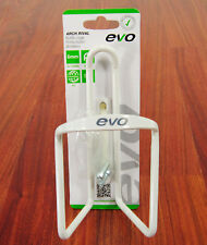 EVO ALLOY BICYCLE WATER BOTTLE CAGE IN WHITE
