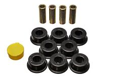 Energy Suspension Control Arm Bushing Set Black Rear for Toyota Camry # 8.3118G