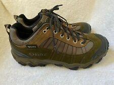 Oboz MENS Tamarack Low Size 8.5W Walking Trail BDry Hiking Shoe NWOB $145