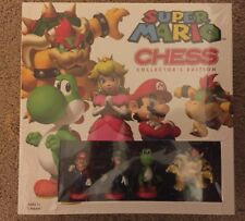SUPER MARIO CHESS SET COLLECTORS EDITION GAME 32 CHESS PIECES