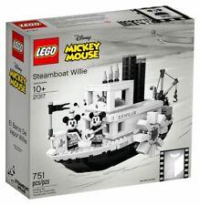 LEGO ® Ideas 21317 Steamboat Willie aus Original-Cartoon Mickey und Miney Mouse