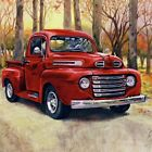 Full 5D Drill Diamond-Painting Red Car Mural Paint with Diamonds Art Decor Gifts