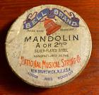 Bell Brand Vintage 9 Mandolin Strings Original Box, National Musical String Co. for sale