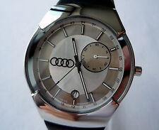 Audi Classic Car Accessory Sport Line Racing Design GMT Dual Time Zone Watch