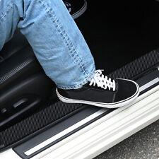 Car Door Carbon Fiber Sticker Body Anti Scratch Strip Protector Sill Scuff Cover
