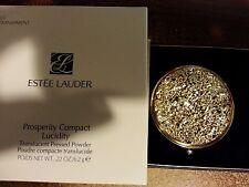 "Estee Lauder Solid Perfume Powder Compact ""Prosperity"" MIBB"