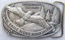 2013 Jamboree National Eagle Scout Association NESA Member Boy Scout Belt Buckle