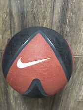 Nike 8lb / 3.63kg Rubber Medicine Ball Red And Black