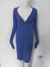 LINGTSY  - LILAC, DEEP V NECK, LONG SLEEVED FULL SKIRT mini dress size SMALL