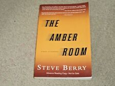 STEVE BERRY: THE AMBER ROOM - SIGNED US UNCORRECTED PROOF
