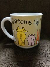 Vintage Bottoms Up Mug by Max Recycled Paper Products  Animals