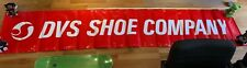 DVS Skateboard Schuhe Shoes Footwear Banner Poster Red Powell Independent