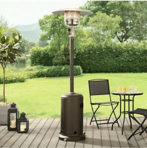Mainstays Large Outdoor Patio Heater Powder Coat - Mocha Brown ✅Fast Shipping✅