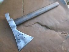 Vintage Strong Tomahawk Hatchet Ax Axe Hammer Old Blacksmith Forged - 850 Grams.