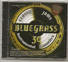 "BLUEGRASS CLASSIC JAMS,CD ""POWER PICKS: 30 INSTRUMENTAL CLASSICS"" NEW SEALED"