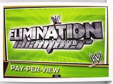 Slam Attax superestrellas - #198 pay-per-view Elimination Chamber