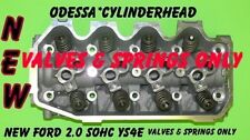 NEW FITS FORD FOCUS 2.0 SOHC #YS4E CYLINDER HEAD VALVES & SPRINGS ONLY NO CORE