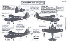 Berna Decals 1/72 GRUMMAN JRF-5 GOOSE French in Indochina & Senegal