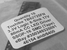 TB62725FN 8bit Constant Current Led Driver with operating Voltage of 3.3V   1pcs