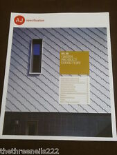 AJ SPECIFICATION - GREEN PRODUCT DIRECTORY - AUG 2010