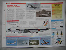 Aircraft of the World Card 90 , Group 2 - NAMC YS-11