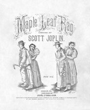 Maple Leaf Rag Scott Joplin sheet music pdf
