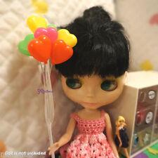 1/6 Bjd Dollfie Yo-SD Momoko Blythe Doll Miniature Mini Balloon Heart 8pcs Set