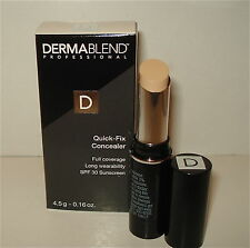 DERMABLEND Quick Fix Concealer - Tan -  NEW in Box