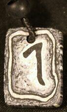 Celtic pendant & earring - Runestone Lagu (cycles)