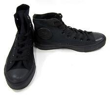 Converse Shoes Chuck Taylor Hi All Star Black Mono Sneakers Men 5.5 Womens 7.5