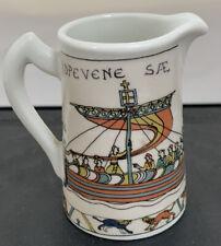 "Vintage Limoges, France ""Capisserie De Bayeux"" Small Porcelain 2.75� Height"