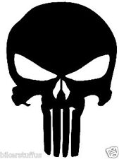 PUNISHER BLACK BUMPER STICKER CARS STICKER LAPTOP STICKER  WINDOW STICKER