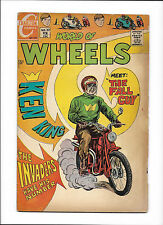 """WORLD OF WHEELS #30  [1970 GD]  """"THE FALL GUY"""""""