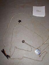 Superbe collier - sautoir double tour de cou siglé Christian Dior - NEUF