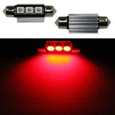 LED Festoon bombilla 39mm C5W ROJO Canbus + cooler 12V Car Auto Coche Bulb