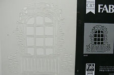 ARCH WINDOW Panes & Surounds 180x165mm - STENCIL C87 Collection L1