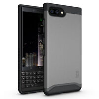 for Blackberry KEY2, TUDIA Slim-Fit MERGE Dual Layer Protective Cover Case