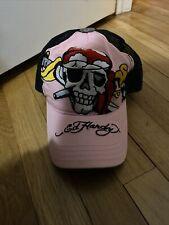 Ed Hardy Hat Skull & Roses