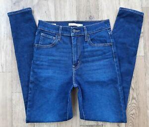 Ladies Levi Mile High Super Skinny jeans size 8 Waist 26 Leg 28 Levis jeans