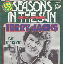 "Single 7"" Terry Jacks ""Seasons in the Sun/Put the Bone in"""