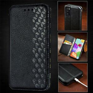 Klapp Hülle Für Samsung Galaxy A21s A51 A71 Note 10 Lite Handy Tasche Flip Case