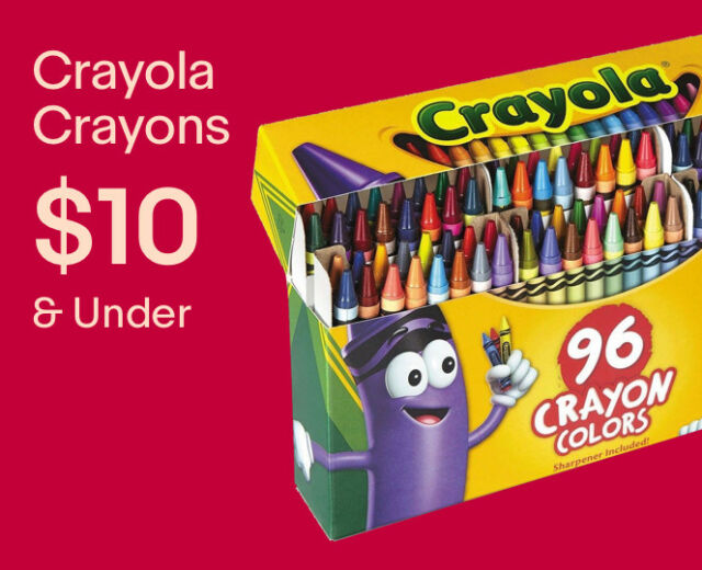 Crayola Kids' Crayons under $10.00